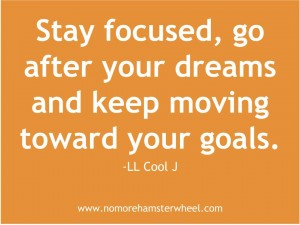 Move towards your dream quote