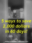 Save money in 60 days