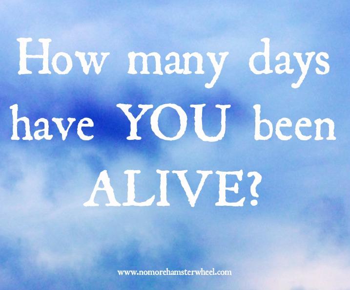 How many days alive photo