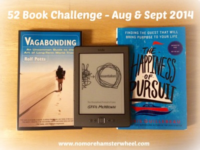 52 book challenge Aug Sept photo