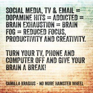 Social media tv email