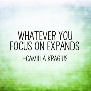 whatever-you-focus-on-expands
