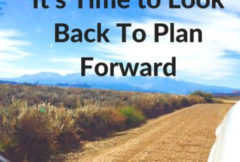 It's Time to Look Back To Plan Forward