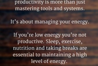 How to Keep Your Energy Up All Day