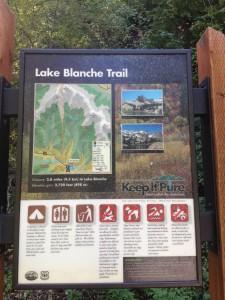 Lake Blanche Trail head