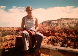 Me in front of Bryce Canyon.