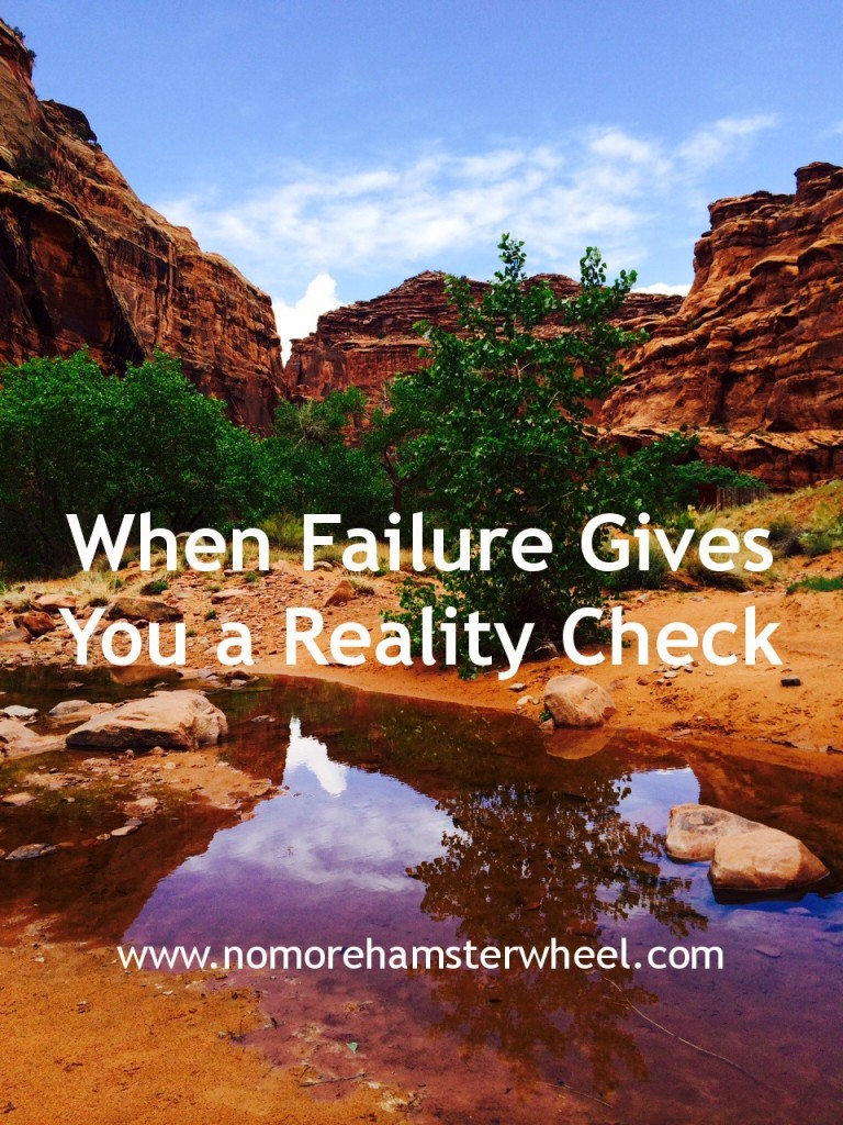 When failure gives you a reality check photo