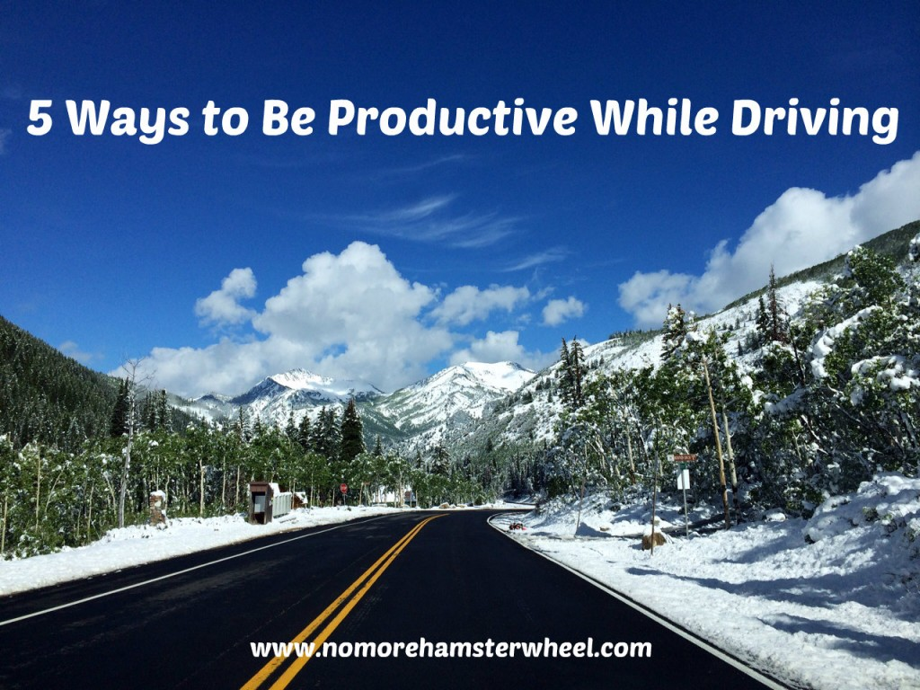 5 ways productive while driving