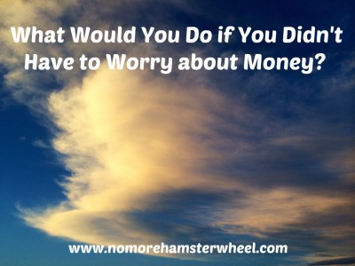 What to do if not worry about money photo
