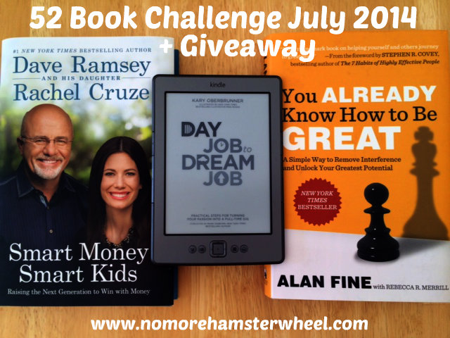 52 Book Challenge July photo