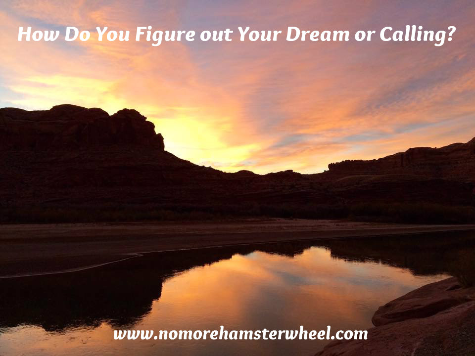 How Do You Figure out Your Dream or Calling?