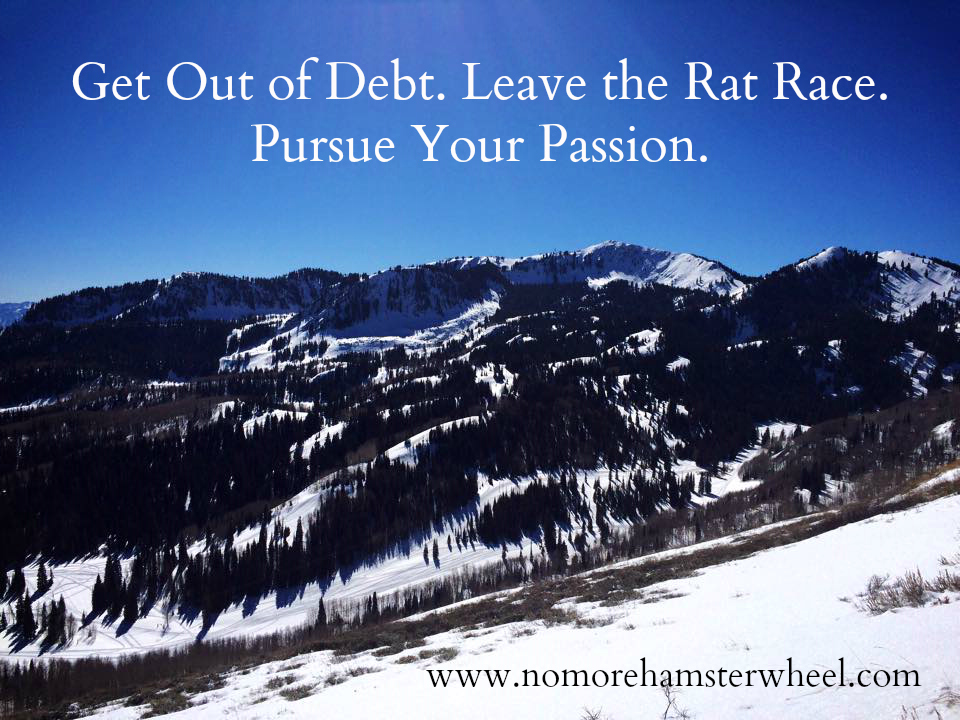 Get Out of Debt - Leave the Rat Race - Pursue Your Passion