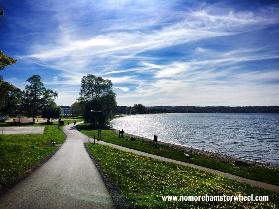 Lake Vattern Sweden - How to Get Work Done While Traveling