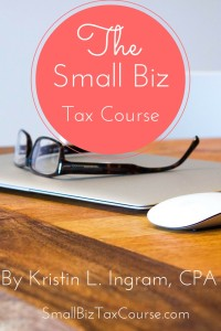 The Small Biz Tax Course