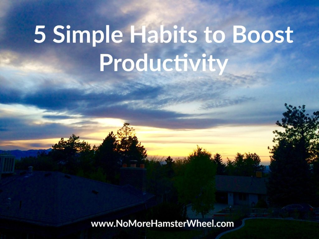 5 Simple Habits to Boost Productivity