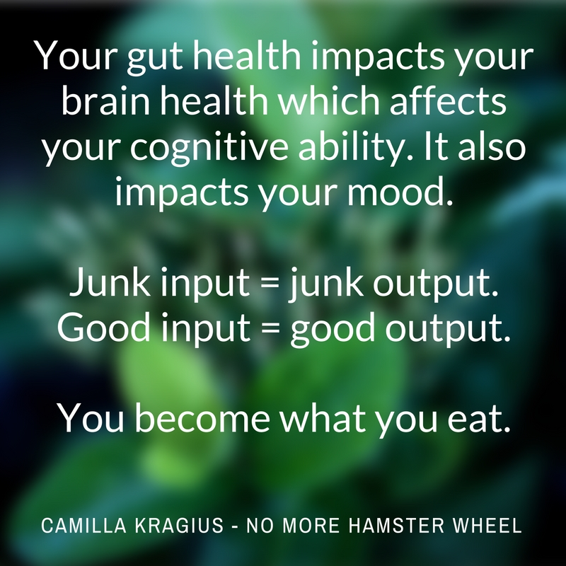 Your gut health impacts your cognitive ability