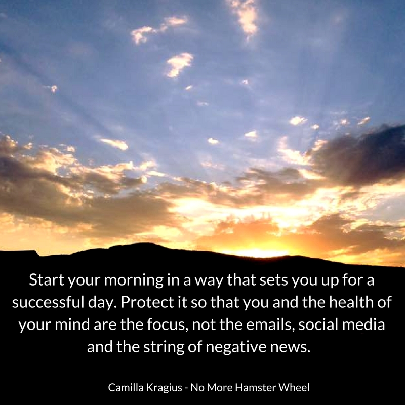 Start your morning for success